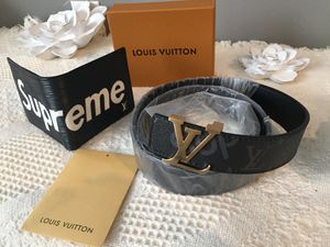 Louis Vuitton Supreme BELT x WALLET combo for Sale in Canandaigua, NY