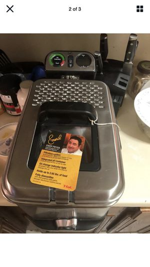 Emeril deep fryer for Sale in Damascus, MD