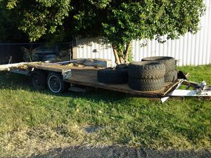 25 FOOT DUAL AXLE TRAILER for Sale in French Camp, CA