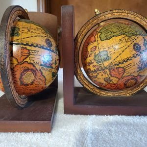 Vintage Italian Made Globe Bookends for Sale in Rodeo, CA