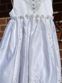 White Baby/Toddler Christening/flower Girl Dress for Sale in San Dimas,  CA