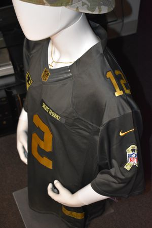 Patriots jerseys,Military salute to service,Tom Brady, 2 day Priority shipping,Or drop by. for Sale in Boston, MA