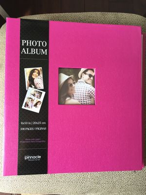 Pinnacle 8x10 100 pages photo album for Sale in Durham, NC