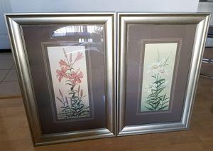 Beautiful pair of wall art for Sale in McLean, VA