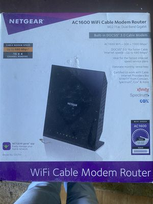 WiFi. Modem. Router for Sale in Chula Vista, CA