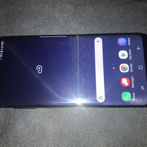 Samsung Galaxy S8 Verizon/T-Mobile/MetroPCS/AT&T/Cricket Phone Clear ESN Black Unlocked New Without Box for Sale in Glendale, AZ