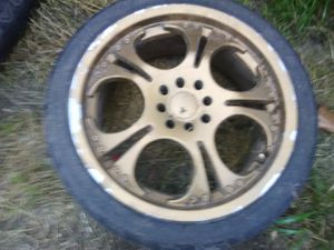 17 inch rims and tire's for Sale in Los Angeles, CA