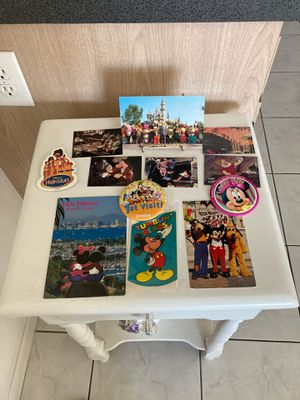 DISNEY. 3 PINS , 3 POSTCARDS,6 CARDS for Sale in Long Beach, CA