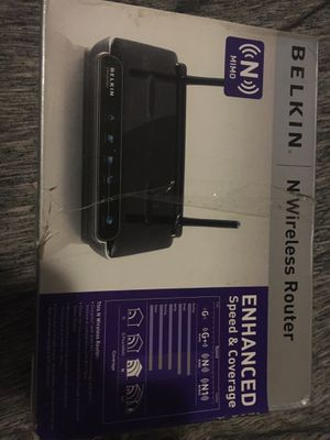 Belkin n wireless router for Sale in FL, US