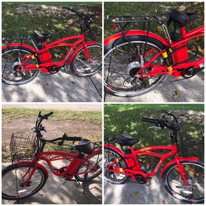 Red X-Treme ebike( electric bike) with a lot of extra bundles for Sale in Miami, FL