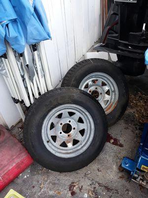 Trailer tires 14 in for Sale in North Lauderdale, FL