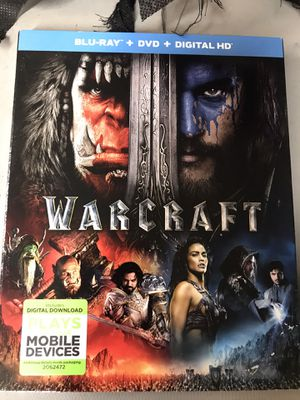 Blu-Ray /DV / Digital HD Warcraft for Sale in Los Angeles, CA