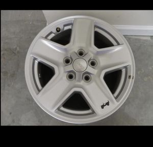 Jeep 17in New OEM Rims for Sale in Raleigh, NC