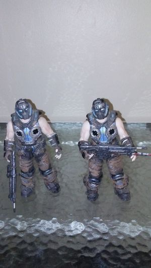Gears of War COG soldier action figures for Sale in Cleveland, OH
