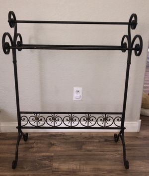 Wrought Iron Quilt Rack for Sale in Henderson, NV