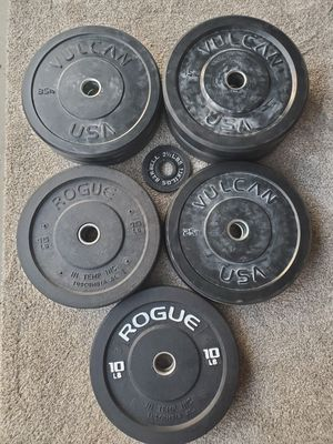 VULCAN & ROGUE bumber plates for Sale in Grayson, GA