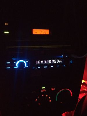 Single Din Indash Flip Out Screen Radio with Bluetooth for Sale in San Antonio, TX
