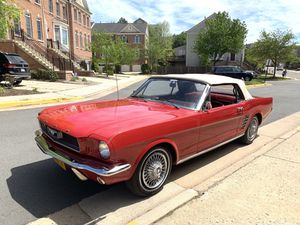 1966 Ford Mustang 289 V8 Convertible Automatic all Restored Good Condition for Sale in Fairfax, VA