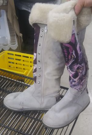 Ed Hardy boots for Sale in Arlington, TX