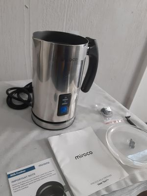 Miroco Frother Stainless Steel Automatic Hot and Cold Milk Frother Warmer for Sale in Merritt Island, FL