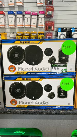 "Planet audio 6-1/2"" component speakers for Sale in Fresno, CA"