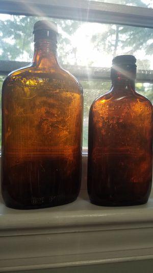 2 Antique/Vintage Glass Medicine Bottles for Sale in Gaithersburg, MD