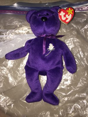 Authentic 1997 princess beanie baby for Sale in Lake Placid, FL