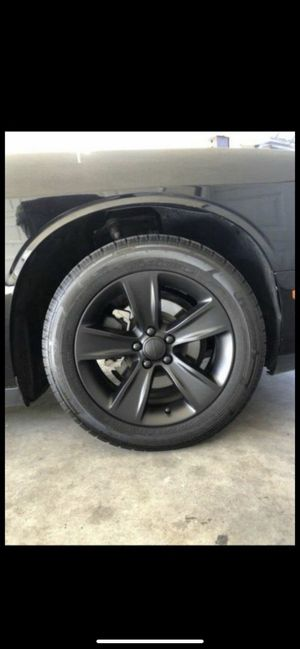 Dip your rim today special on black for Sale in Jurupa Valley, CA