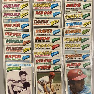 1977 Topps Baseball 300 Card Collection for Sale in Monrovia, MD