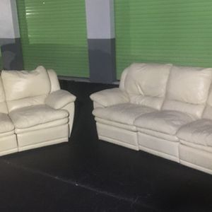 Leather Recliner Set - Send Best Offer for Sale in Hollywood, FL