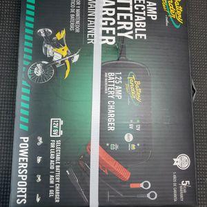 Battery Charger 1.25amp 12v/ 6v for Sale in Sloan, NV