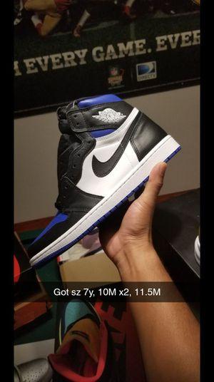 Jordan 1 Royal Toe for Sale in El Paso, TX