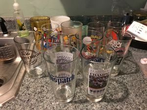 Collectible Beverage Glasses - Adventure Time, Ohio State Buckeyes, Looney Tunes, More for Sale in Columbus, OH