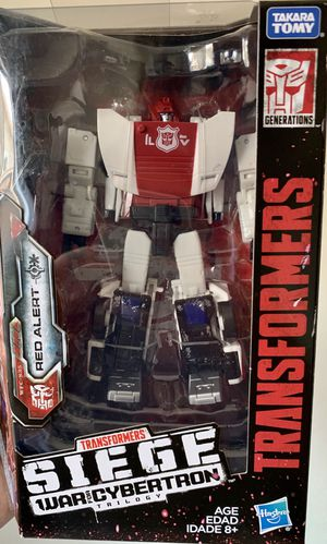 Transformers Siege War for Cybertron Red Alert Deluxe Class Figure for Sale in Fresno, CA