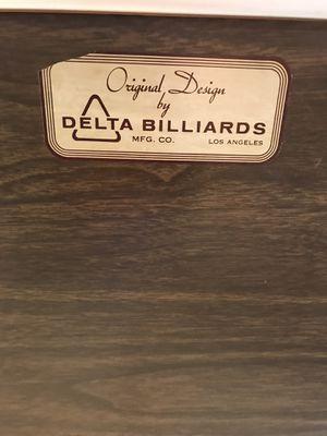 Delta billiards vintage pool table for Sale in Moreno Valley, CA