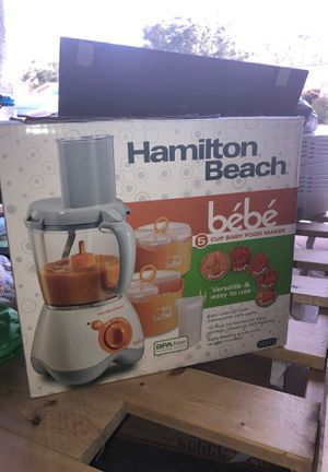 Hamilton Beach 5 cup baby food maker for Sale in New Port Richey, FL