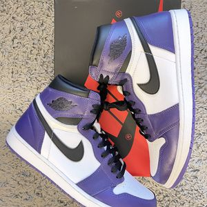 Jordan 1 Court Purple. Size 11 for Sale in Lynnwood, WA