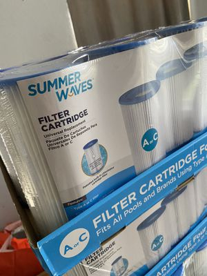 New Summer Waves pool pump filter type A - C for Sale in Lake Worth, FL