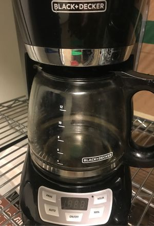 Coffee Maker Black and Decker brand for Sale in Mililani, HI