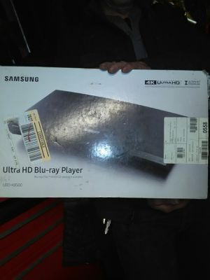 Samsung ultra HD Blu Ray player for Sale in Maple Valley, WA