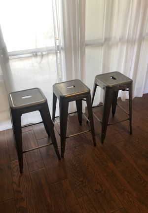 Bar stools (set of three) for Sale in Tempe, AZ