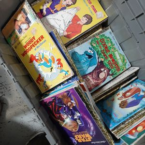 200 books of GOLDEN BOOKS ALL DIFFERENT YEARS mixed in per lot for Sale in Uxbridge, MA