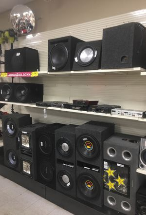 Car Audio!! Subs, Amplifers, Head Units for Sale in Tampa, FL