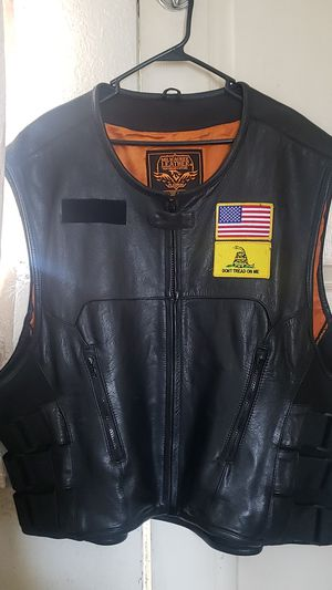 Milwaukee Leather, leather motorcycle vest for Sale in National City, CA