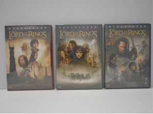 Lord Of The Rings Trilogy New DVD for Sale in Miami, FL