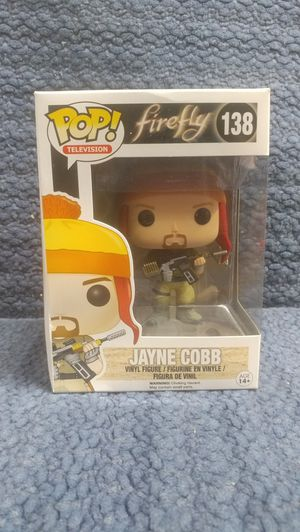 VAULTED Funko Firefly Jayne Cobb #138 for Sale in Marysville, WA