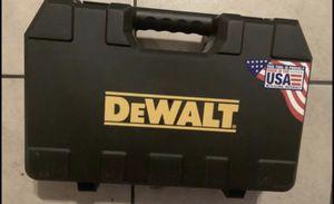 Dewalt hard case for Sale in Phoenix, AZ