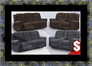 Grey or chocolate recliner set for Sale in Mount Rainier, MD
