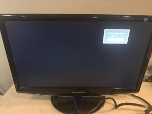 "Samsung LCD monitor 21"" for Sale in Gainesville, VA"