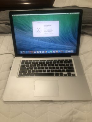 2010 Apple 15 inch MacBook Pro, good condition, runs perfect! for Sale in Imperial, PA